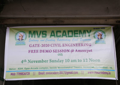 MVSAcademy-GATE-2020-Demo-Session-at-Ameerpet,November-2019-1